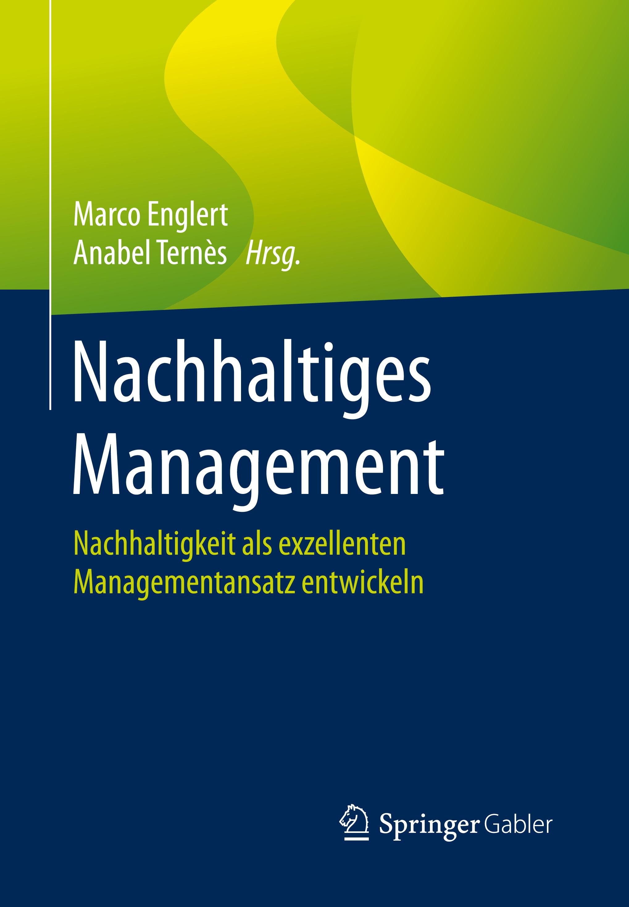 Nachhaltiges Management Buch Vorderseite